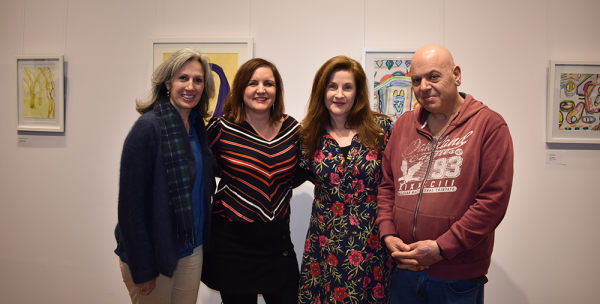 Mary, Kim, Jacinta and Joe at the exhibition launch